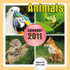 2011 Animals Calendar - A4 Portrait